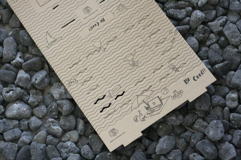 Decoración para diseño de cartón