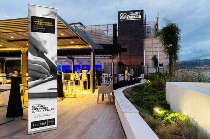 Diseño gourmet, gourmet expetience El corte Inglés Málaga