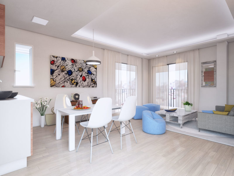 infografía apartamento tarifa