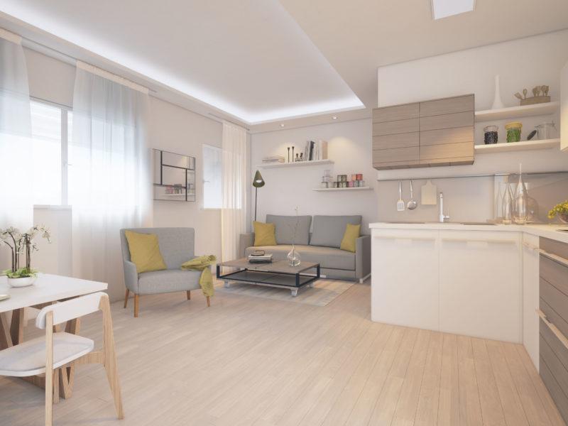 infoarquitectura diseño loft