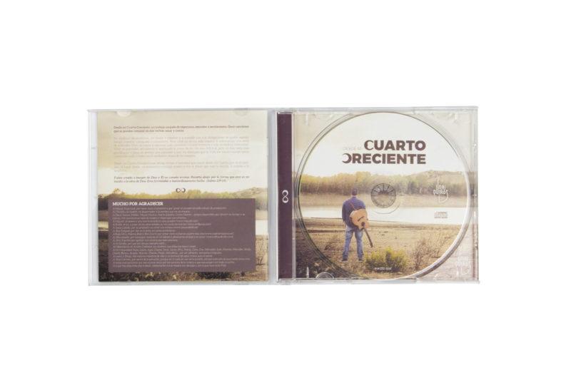 CD Abierto Diseño de cover