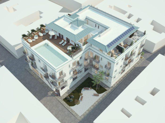 infoarquitectura en tarifa apartamentos