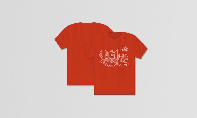 Camiseta Roja ascó