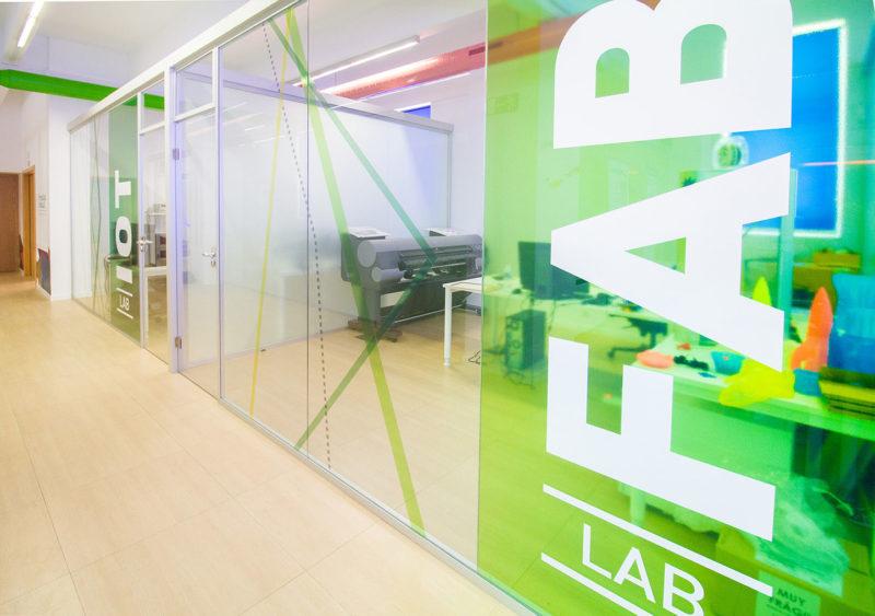 decoración de oficinas Promálaga urbanlab