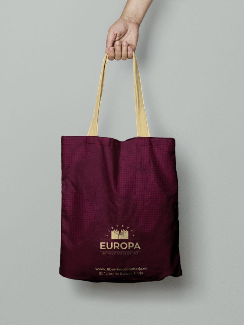 diseño bolsa de tela