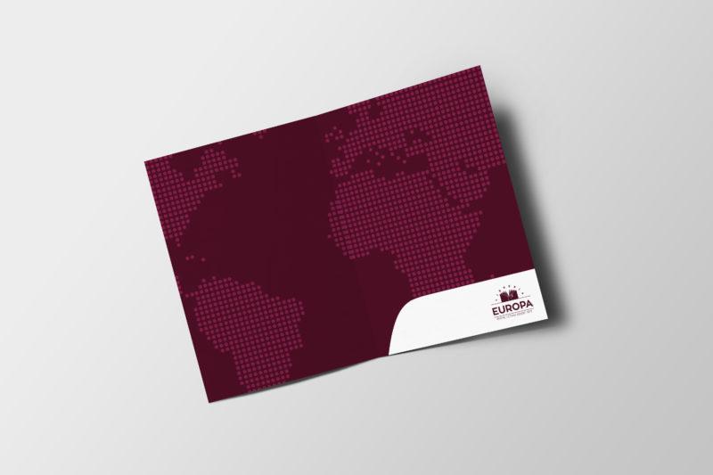 diseño carpeta libreria europa