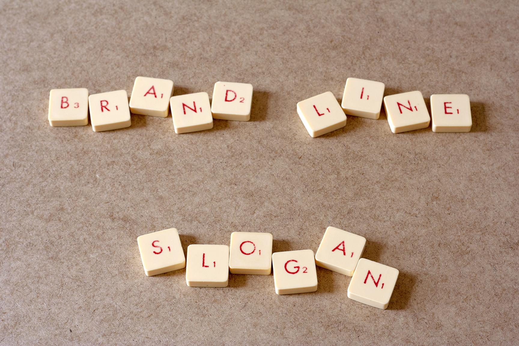 Brand line y Slogan definición