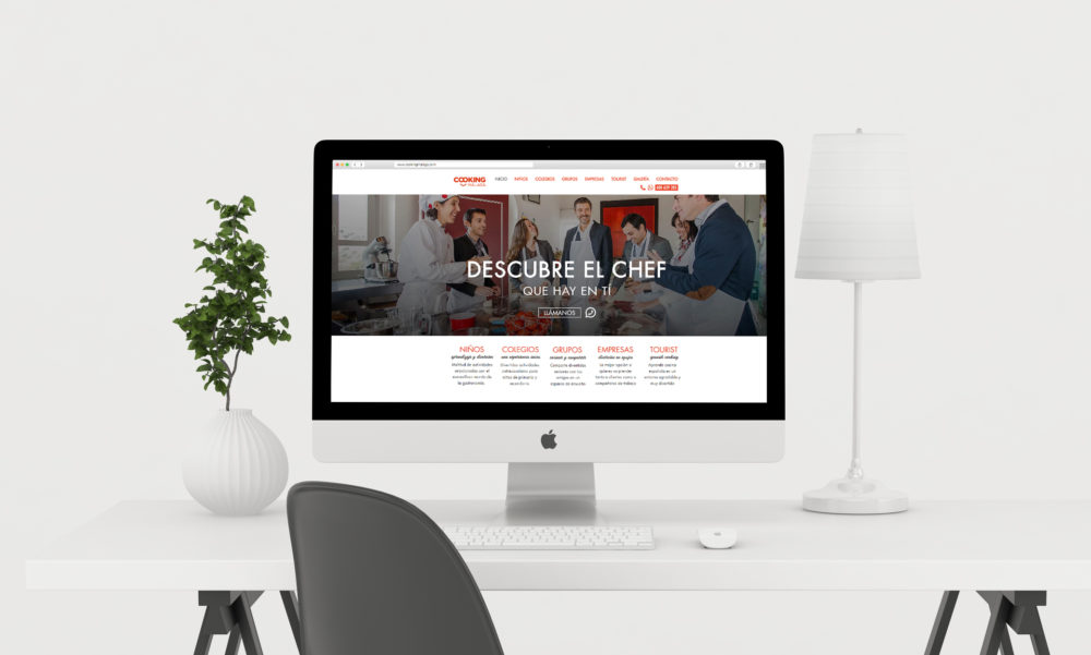 diseño web cooking malaga