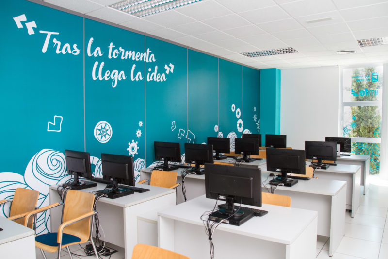 Diseño de oficinas IMFE PTA Málaga | Diseño interior Málaga
