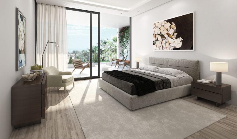 Villa de lujo dormitorio Marbella