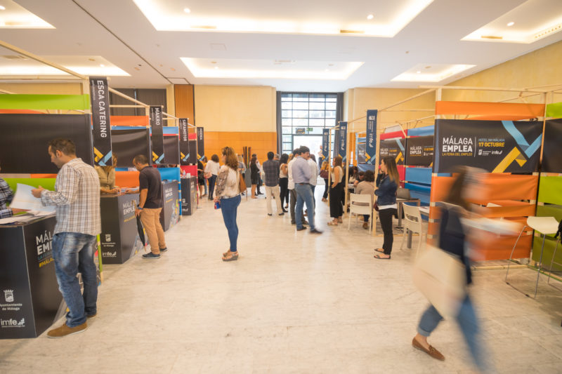 malaga emplea 2017 stands