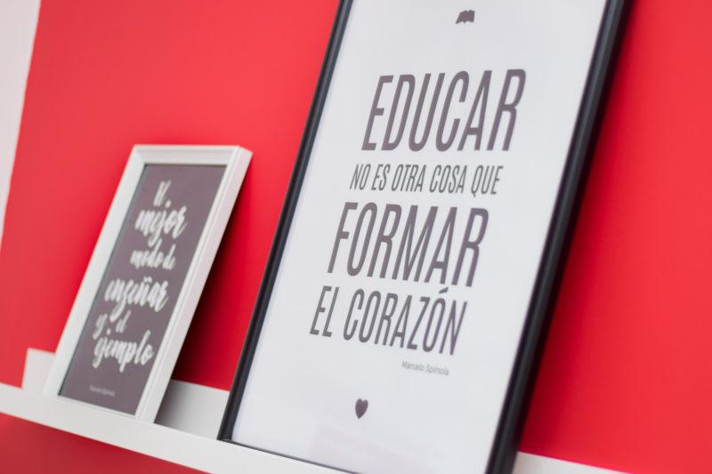 Frase Interiorismo Colegio
