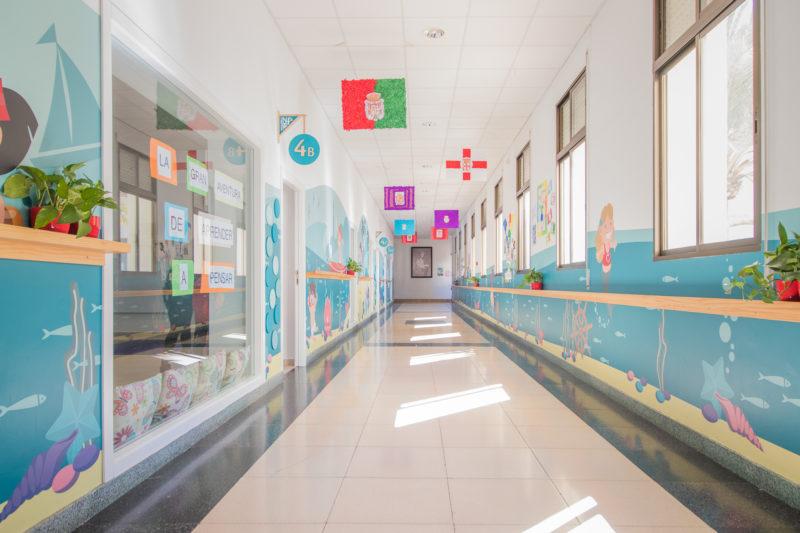Diseño Galerías Interiorismo Colegio