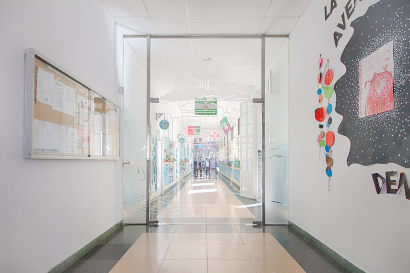 Acceso Interiorismo Colegio