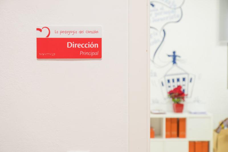 Señaletica Interiorismo Colegio