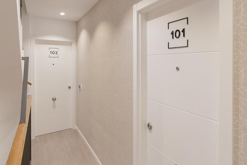 Diseño de Apartamentos Turísticos. Señalética Numeración