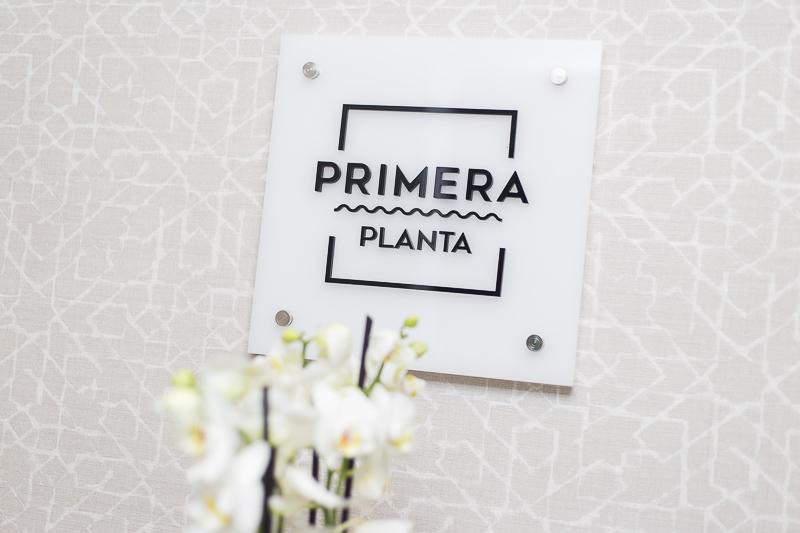 Diseño de Apartamentos Turísticos. Señalética Planta Primera