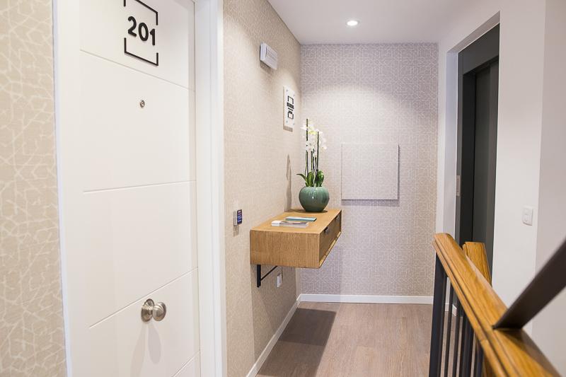 Diseño de Apartamentos Turísticos. Señalética Planta