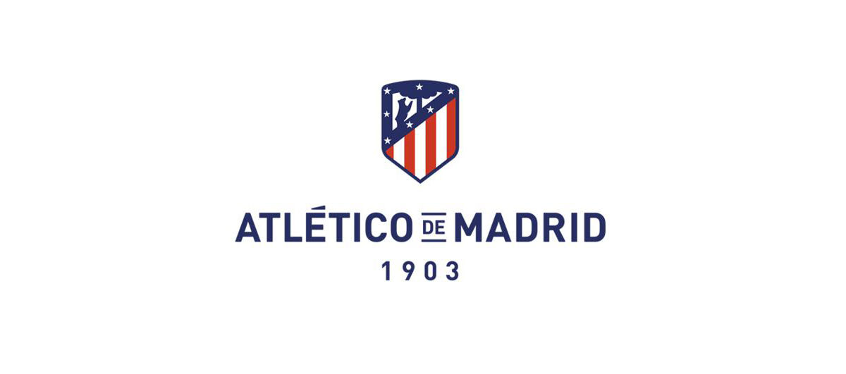 Restyling de marca Logo Atletico de Madrid