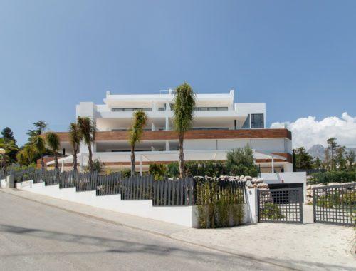 Apartamentos de lujo Señorío Vasari - Fachada Principal