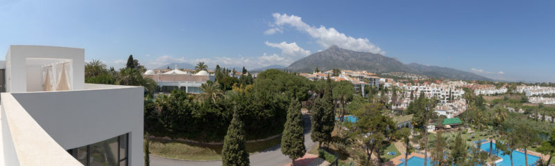 Apartamentos de lujo Señorío Vasari - Vistas a la montaña