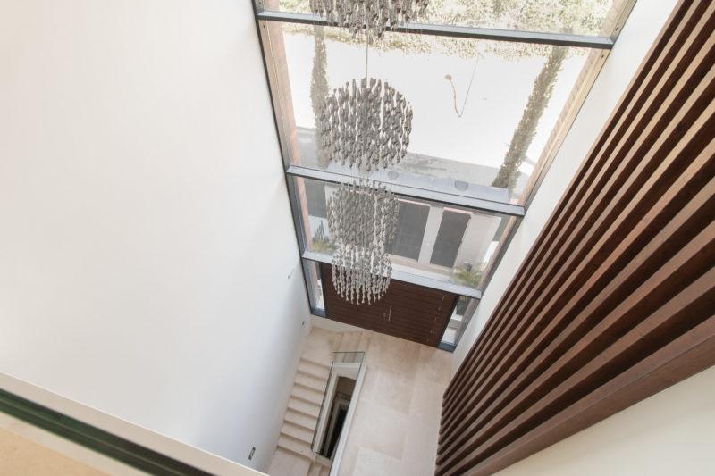 Apartamentos de lujo Señorío Vasari - Entrada en Triple Altura