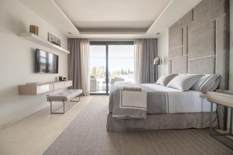 Apartamentos de lujo Señorío Vasari - Vistas Dormitorio