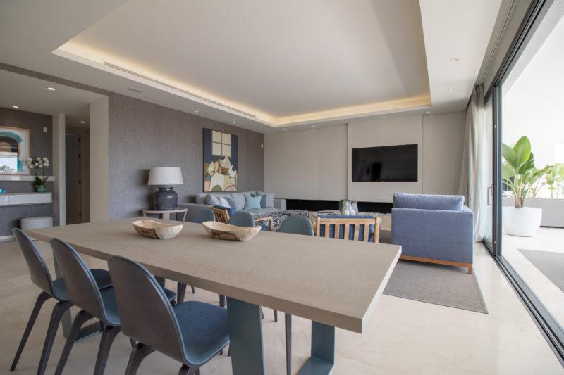 Apartamentos de lujo Señorío Vasari - Comedor