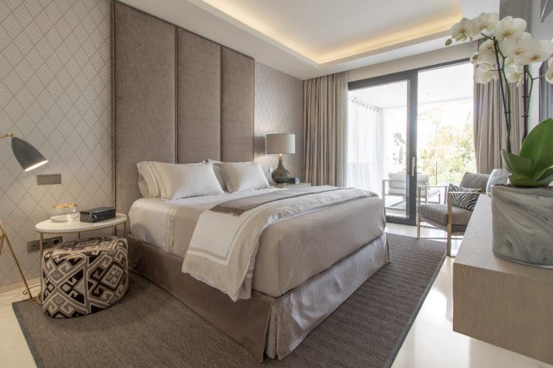 Apartamentos de lujo Señorío Vasari - Dormitorio Secundario