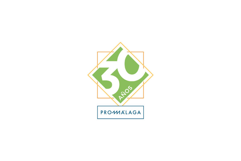 Diseño Logo 30 Aniversario Promálaga