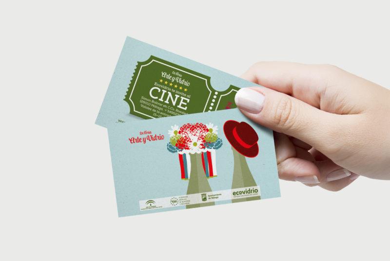 ENTRADA DE CINE Campaña reciclaje