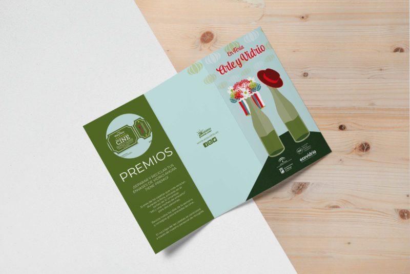 TRIPTICO ECOVIDRIO Campaña reciclaje