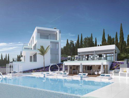 Phoenix Resort Infografía Mijas Exterior piscina