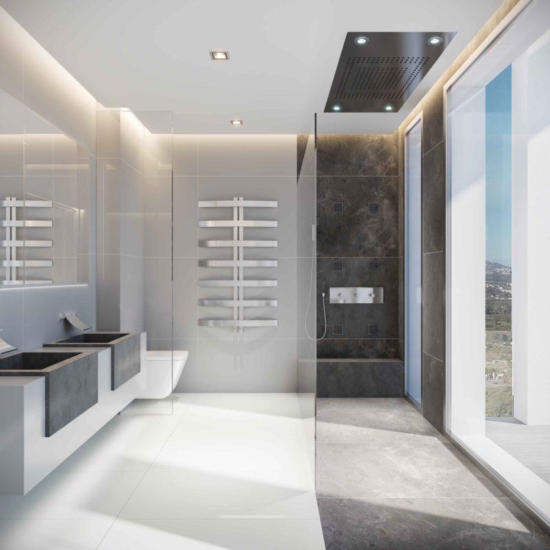 Phoenix Resort Infografias Mijas Interior Baño