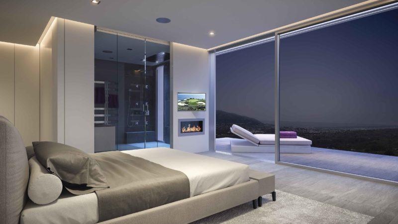 Phoenix Resort Infografias Mijas Dormitorio Noche