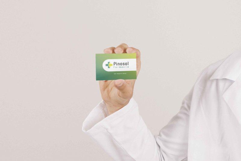 Imagen Farmacia Pinosol Tarjeta Visita