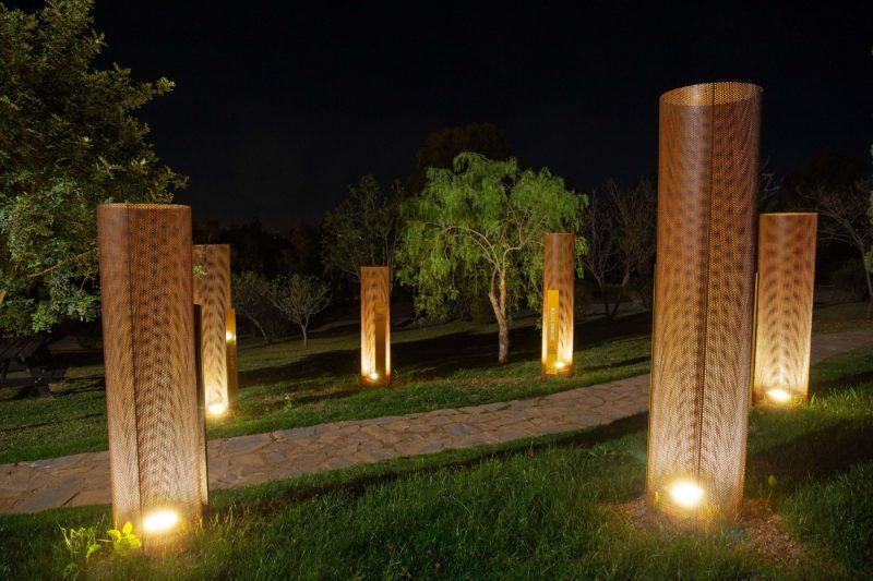 Paisajismo Win Garden Caterpillar Conjunto Noche