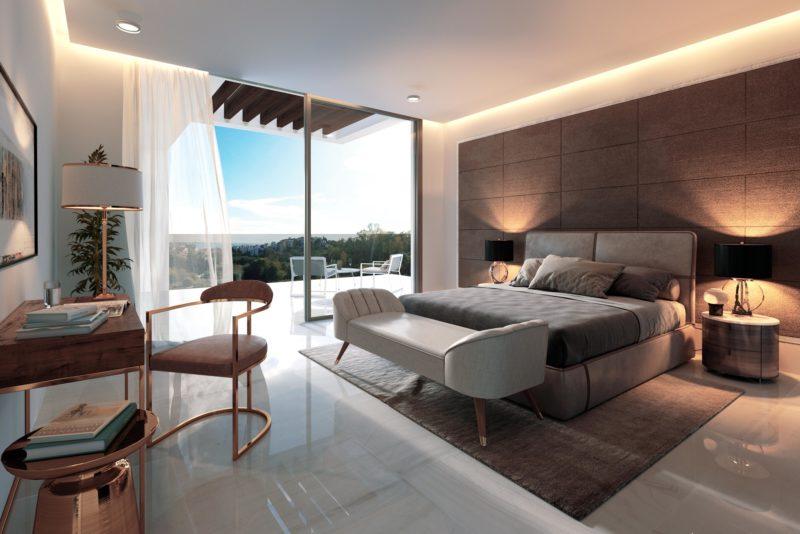 Infografías 3D Villa Dormitorio