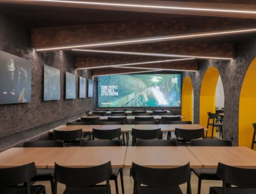 Diseño restaurante Espacio Minería