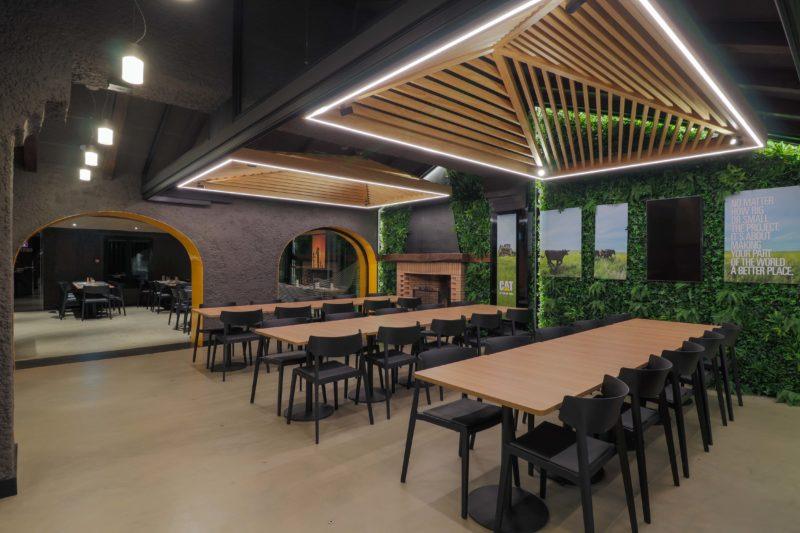 Diseño Restaurante Espacio Natural