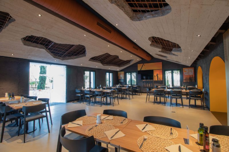 Diseño Restaurante Sala Construccion