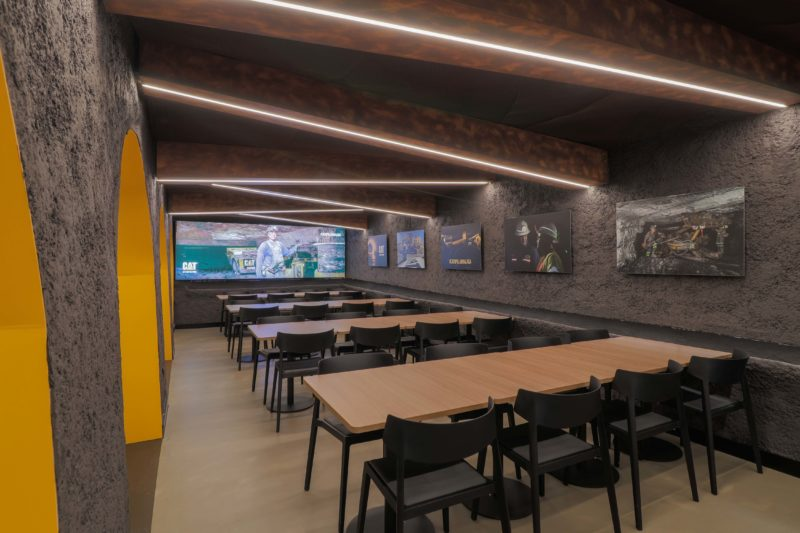 Diseño Restaurante Tela tensada