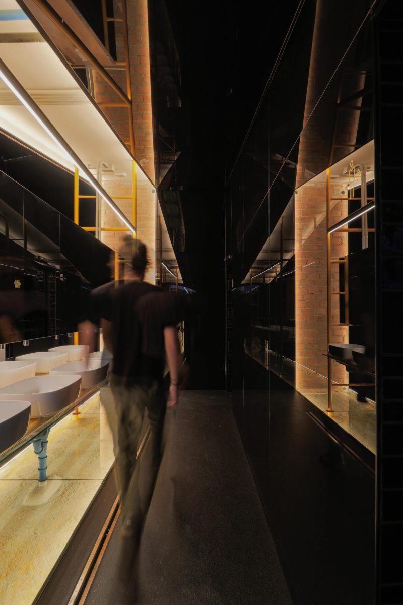 Diseño baño espacio comun