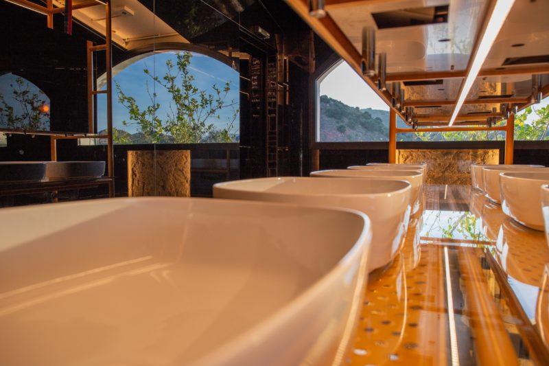 Diseño baño lavamanos