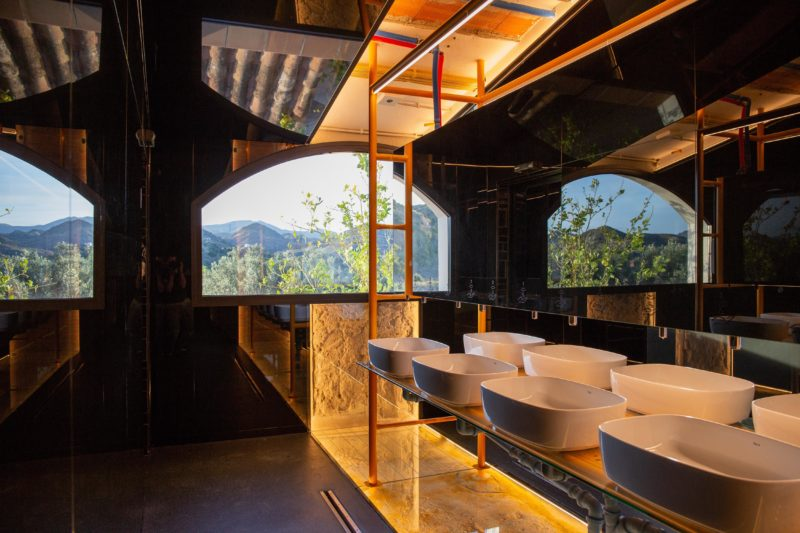 Diseño baño vistas