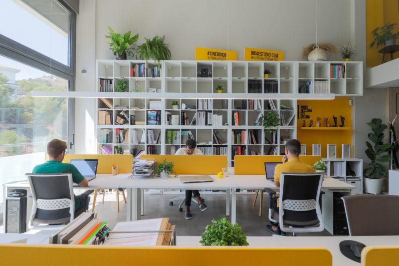 Diseño de oficina almacenaje