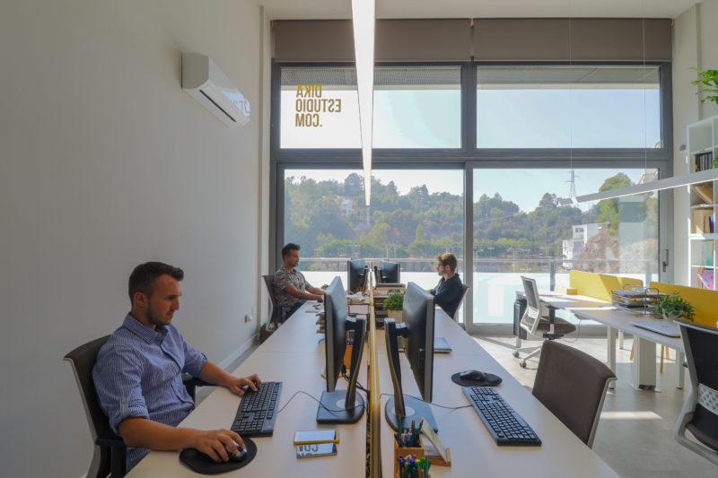 Diseño de oficina concentracion