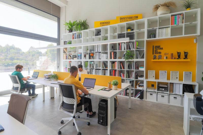 Diseño de oficina coworking