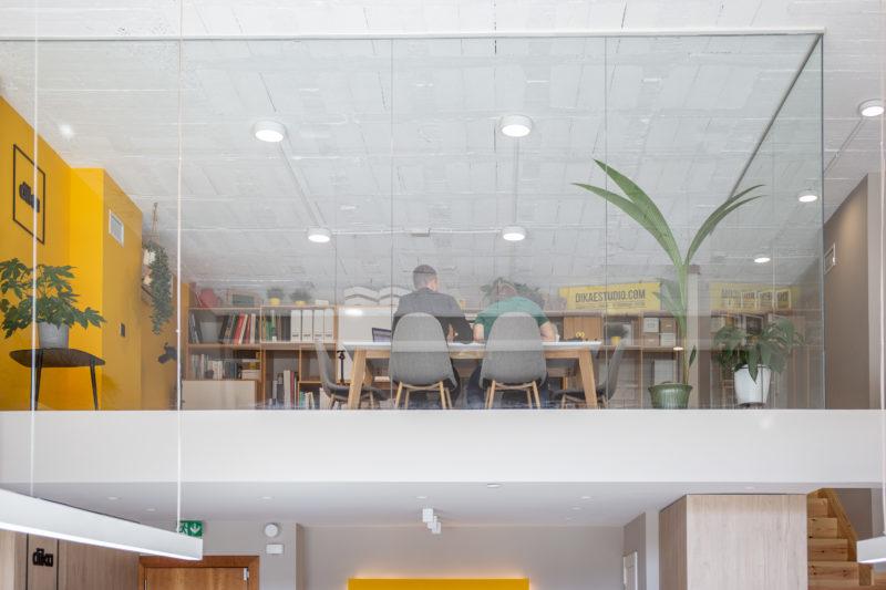 Diseño de oficina espacio