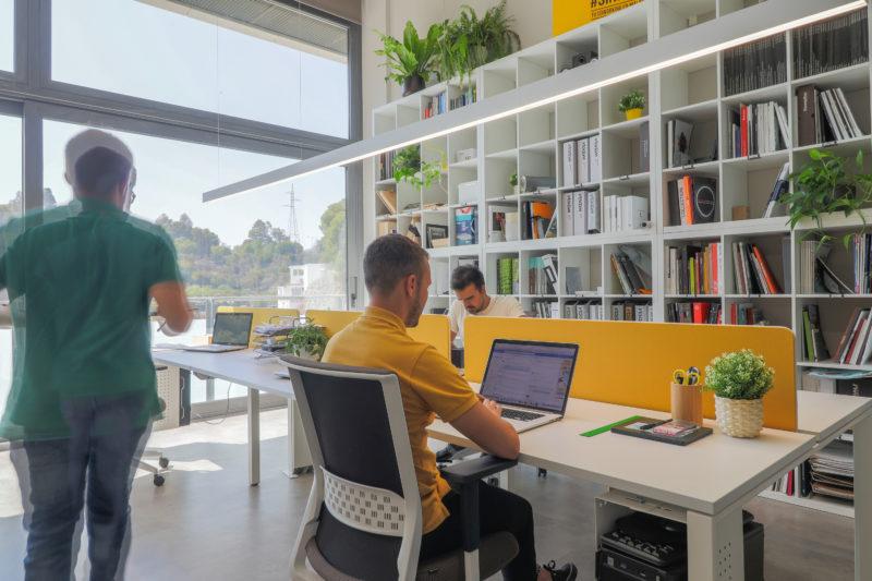 Diseño de oficina trabajo
